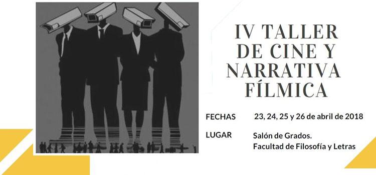 IV Taller de Cine y Narrativa Fílmica