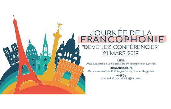 """Journée de la Francophonie """"DEVENEZ CONFERENCIER"""""""