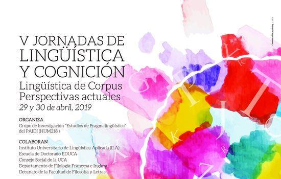 V Jornadas de Lingüística y Cognición
